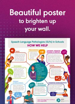 SLPs in Schools Posters