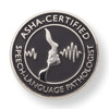ASHA Certified Speech-Language Pathologist Lapel Pin