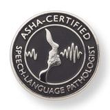 ASHA Certified Speech-Language Pathologist Lapel Pin