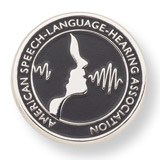 American Speech-Language-Hearing Association Lapel Pin
