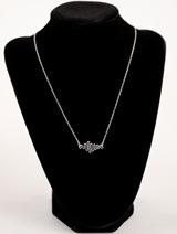 Handcrafted Sterling Silver Soundwave Necklace