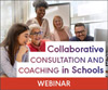 Collaborative Consultation and Coaching in Schools (Live Webinar)