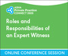 Roles and Responsibilities of an Expert Witness