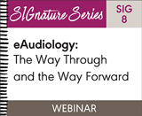 eAudiology: The Way Through and the Way Forward (SIG 8)