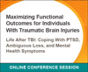 Life After TBI: Coping With PTSD, Ambiguous Loss, and Mental Health Symptoms