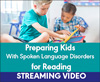 Preparing Kids With Spoken Language Disorders for Reading