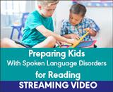 Preparing Kids With Spoken Language Disorders for Reading